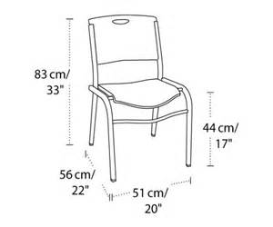 standard seat height mm lifetime 2830 lifetime black stacking chair on sale free