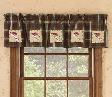 Cabin Style Curtains Fish House Curtains Curtain Menzilperde Net