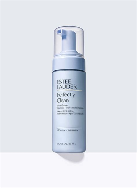 Estee Lauder Perfectly Clean perfectly clean cleanser toner makeup