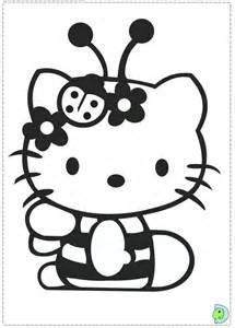 kitty coloring dinokids org