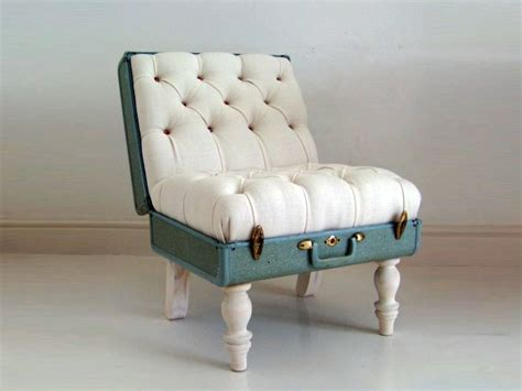 diy armchair these n that n those diy suitcase chair