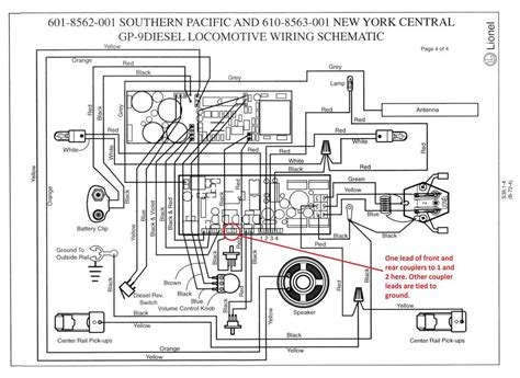 lionel e unit wiring diagram lionel free engine image