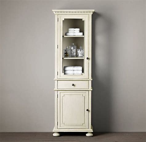Restoration Hardware Bathroom Cabinets St Medium Bath Cabinet Antiqued White Restorationhardware Pinterest Bath Cabinets