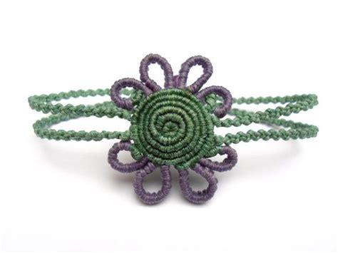 Spiral Macrame - spiral handmade macrame bracelet joyas nudos pulseras