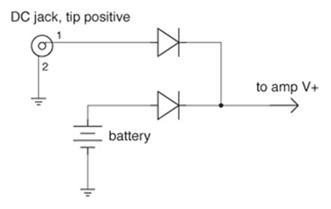 battery switching diode arduino backup battery power ups behavior