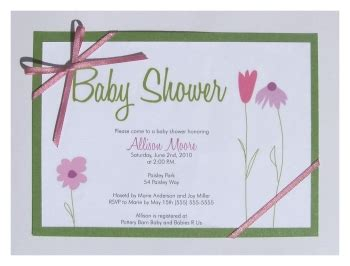 Baby Shower Sweepstake Template - enter our handmade invitations contest and giveaway