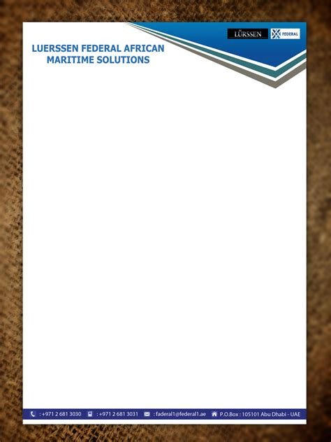 Official Letterhead Paper Playful Letterhead Design For Aziz Tohme By Sandaruwan Design 5560842