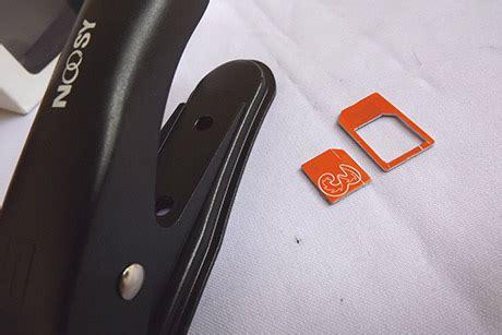 Potong Simkad Pemotong Kartu Atau Micro Sim Cutter