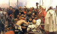 Ilya Repin  Reply Of The Zaporozhian Cossacks To Sultan Mehmed IV