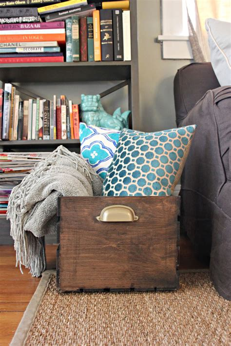 how to store pillows 12 diy wooden crate furniture ideas
