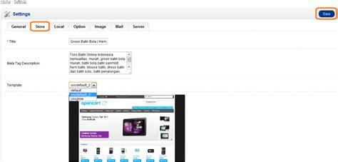 template toko online opencart mensetting opencart toko online anda