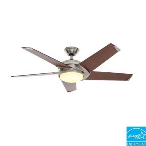 casablanca stealth ceiling fan casablanca stealth 54 in brushed nickel ceiling fan 59090