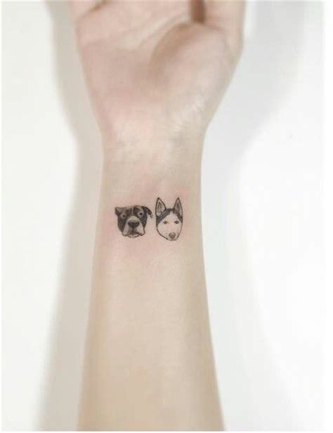 minimalist yorkie tattoo 103 best dog tatoo images on pinterest tattoo ideas