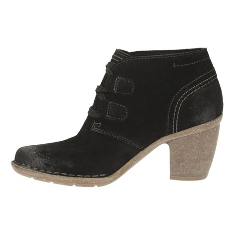 clarks womans boots clarks carleta lyon s casual boots shoes by mail