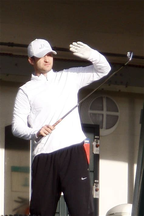 Justin Timberlake In Justin Timberlake Seen Practicing His