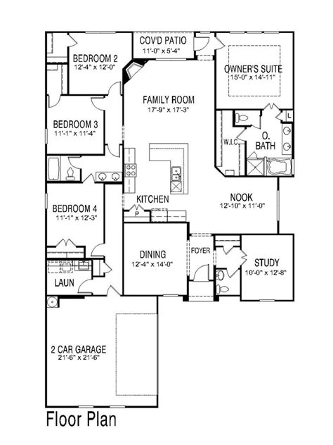 half bath floor plans great floor plan 1 story 4 bed 2 5 bath like the half