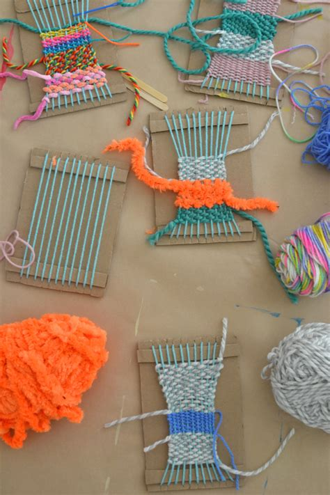 craft thread projects weaving with artbar