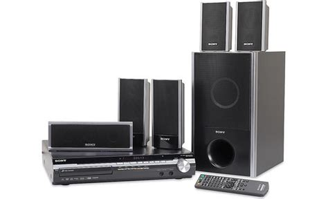 sony dav hdx275 5 disc bravia 174 dvd home theater system