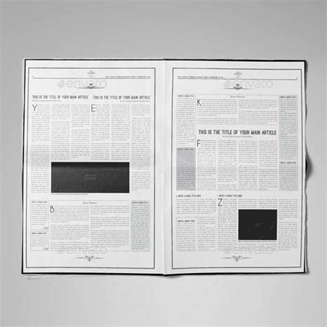 software layout tabloid newspaper template tabloid by keboto graphicriver