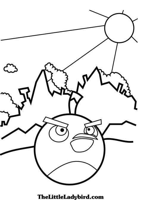 angry birds black bird coloring page black angry bird coloring page 7744 bestofcoloring com