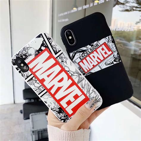exclusive marvel gang logo iphone case marvel goodies
