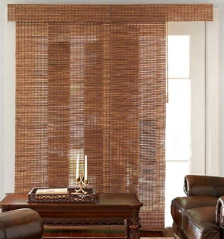 Bamboo Shades For Sliding Glass Doors Bamboo Blinds For Sliding Glass Doors Cortinas E Persianas Pinter