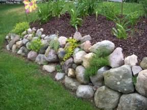 Rock Garden Wall Rock Wall Garden For The Garden