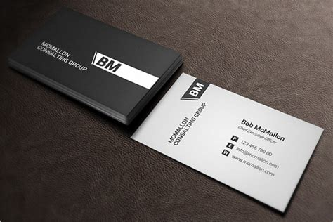 business card psd template white black white business card template free psd