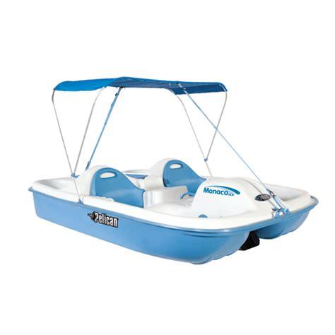 pelican monaco boat pelican monaco deluxe pedal boat white blue west marine