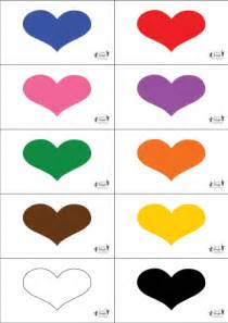 practice identifying colors and reading with this hearts