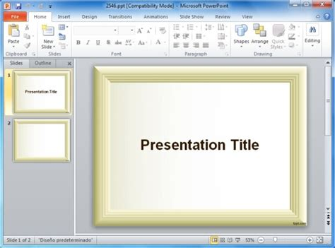 how to add powerpoint templates page borders for powerpoint presentations powerpoint