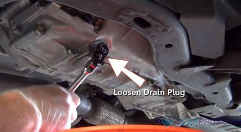 Transmission Drain Plug Toyota Tundra