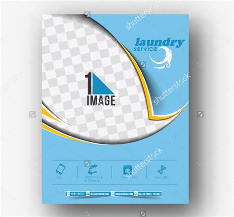 19 laundry flyer templates free premium download