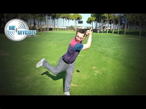 swinging pete me and my golf analyse pete finch s swing youtube