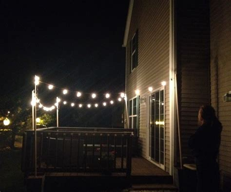 how to create outdoor twinkle lights snapguide