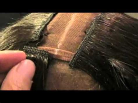 how to do glue hair extensions on grown pixie the o jays sew and hair extensions tutorial on pinterest
