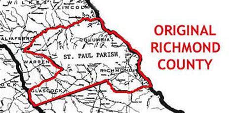 Richmond County Ga Records Richmond County Genweb Project