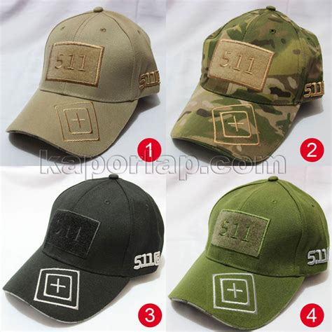 Topi Polo Import 5 topi 5 11 tactical import toko kaporlap