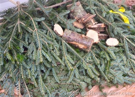 buy christmas tree cuttings grapevine evergreen wreath made with free tree cuttings