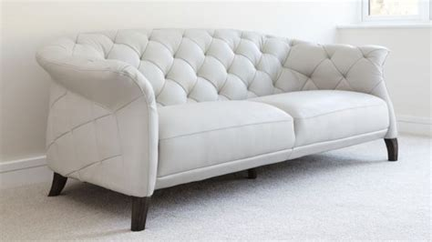 Modern Sofa Uk by 2 Seater Leather Sofas In White Best Choice To Brighten Up