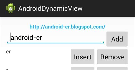 layoutinflater remove android er get text from dynamically added view