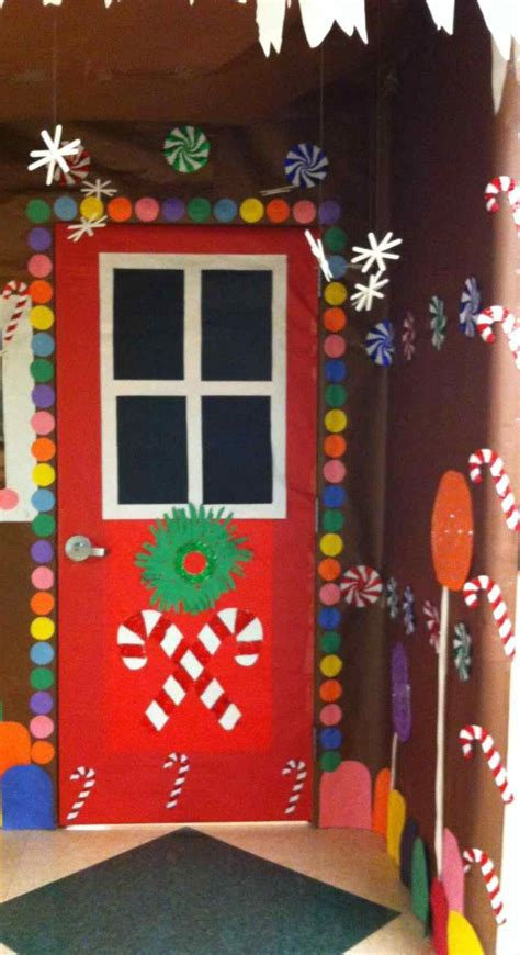apartment door christmas decorating contest ideas door decorating ideas gingerbread house psoriasisguru