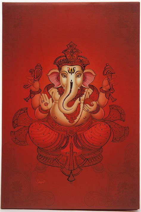 wedding card hindu hindu wedding card with ganesha design in shades of orange