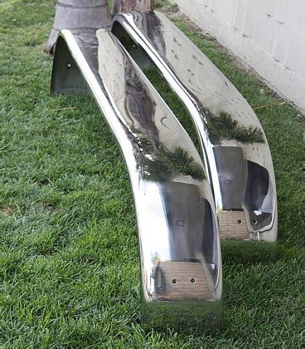wesbar boat trailer fenders polished stainless steel trailer fenders triple axle 9 x