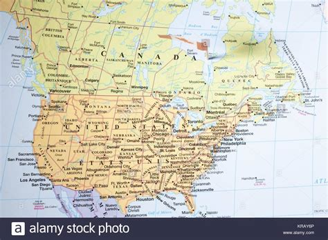 map of the united states close up outline map united america stock photos outline map