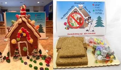 vegan gingerbread house kit allergy friendly gingerbread house lil allergy advocates