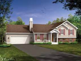 front to back split level house plans carriage house plans split level house plans