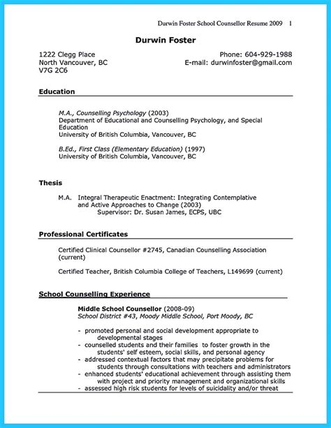 Counseling Resume Exles by Mental Health Counselor Cover Letter Exles Mental Health Counselor Cover Letter Sle