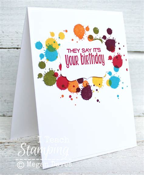 how to make beautiful handmade birthday cards i teach