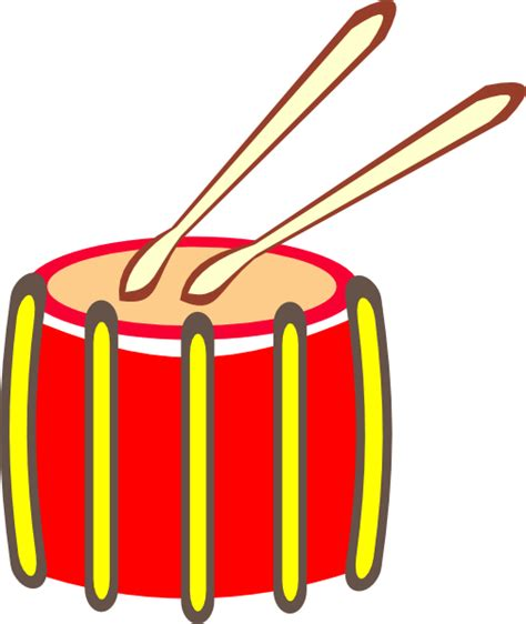 snare drum clipart snare drum clip at clker vector clip